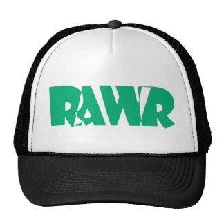 Green Black Rawr Hat