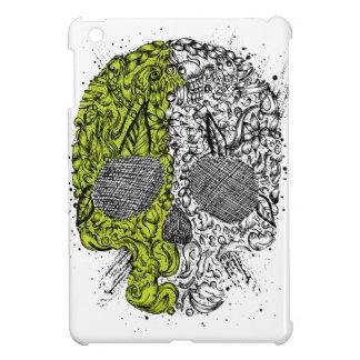 Green & BLack Skull Case Glossy iPad Mini Case