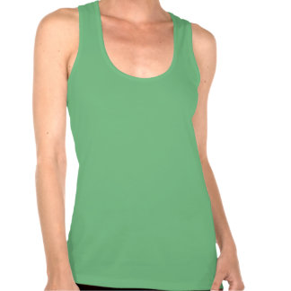 Green & Black Sweating For The Wedding. Singlet T Shirt