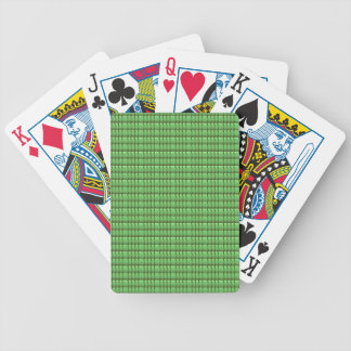 green blank crystal template bicycle playing cards