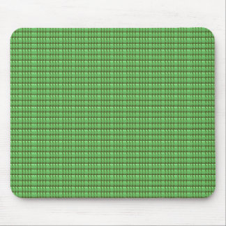 green blank crystal template mouse pad