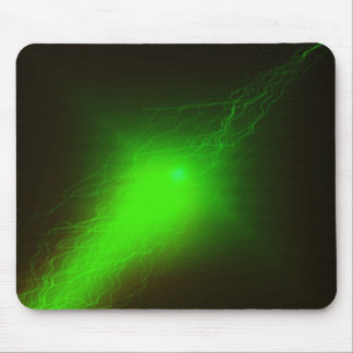 Green Blast Mouse Pad