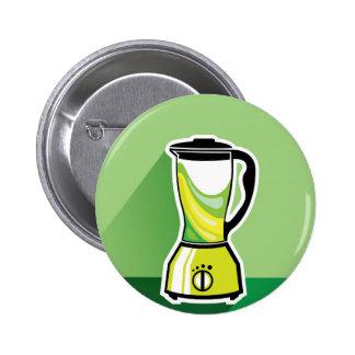 Green Blender vector Button