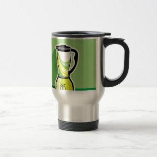 Green Blender vector Travel Mug
