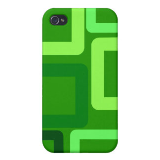 Green Bloc case Covers For iPhone 4