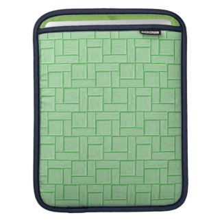 Green Block iPad Sleeve