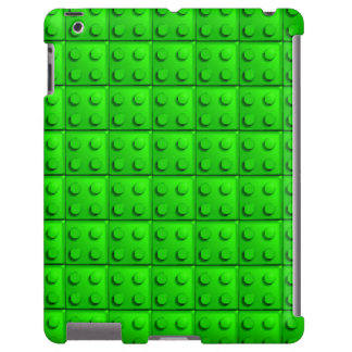 Green blocks pattern