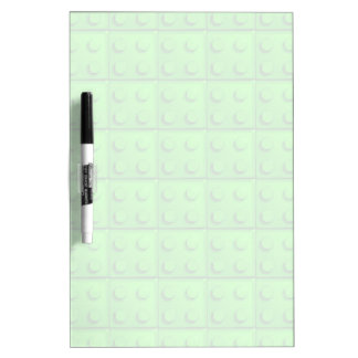 Green blocks pattern Dry-Erase board