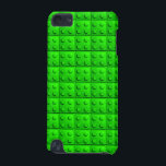 "Green blocks pattern iPod touch (5th generation) case<br><div class=""desc"">A yellow blocks pattern  that give you product a cool and trendy look.   You can also customize it to get a more personal look.</div>"