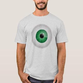Green Bloodshot Eyeball Shirt