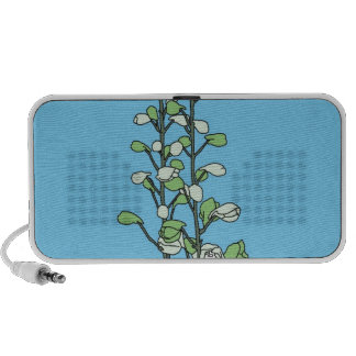 Green Blossom iPhone Speakers