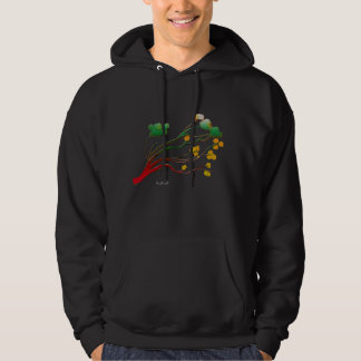 Green Blossoms Hoodie