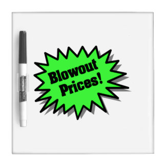 Green Blowout Prices Dry Erase Whiteboards