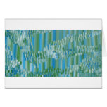 Green/Blue Abstract Card