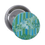 Green/Blue Abstract Pinback Button