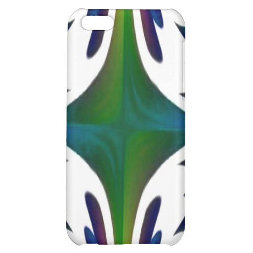 Green Blue Abstract Speck Case iPhone 5C Case