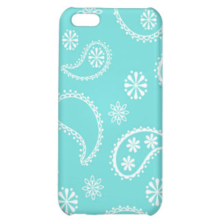 Green Blue Bandana iPhone 5C Case