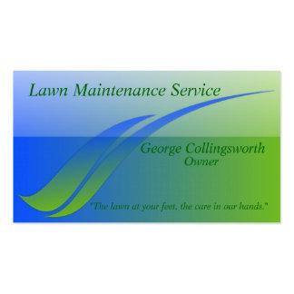 Green&Blue Business Card