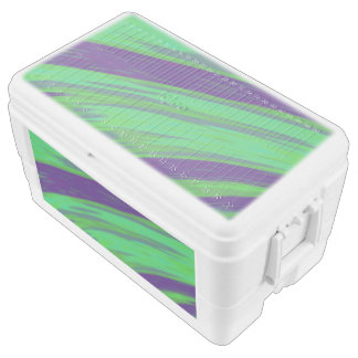 Green Blue Color Swish Cooler
