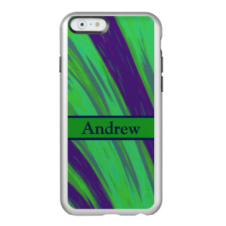 Green Blue Color Swish Incipio Feather Shine iPhone 6 Case