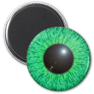 Green Blue Eye With Flare Magnet