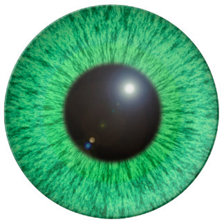 Green Blue Eye With Flare Plate