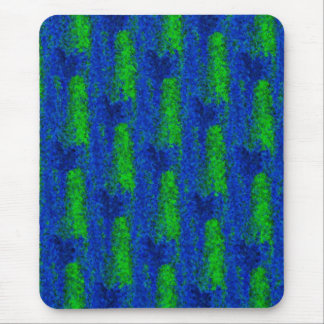 green blue fragments of glass kind Deco Mouse Pad