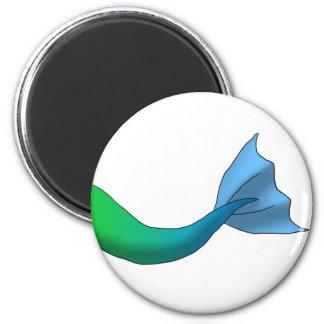Green/Blue Gradient Mermaid Tail Magnet