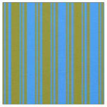 [ Thumbnail: Green & Blue Pattern Fabric ]