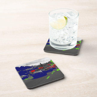 Green Blue Red Cars Coasters