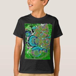 Green-blue Sensation. T-Shirt