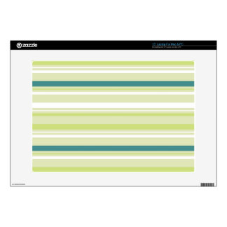 Green & Blue Striped Laptop Skin