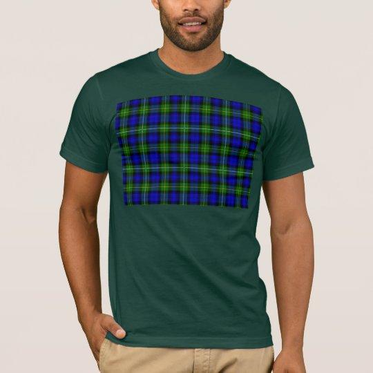 Green & Blue Tartan T-Shirt