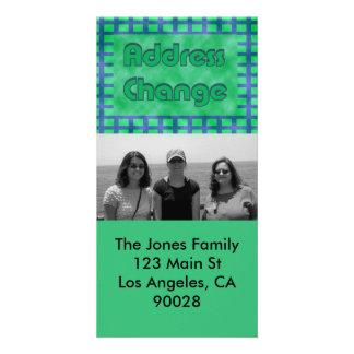 green blue we've moved card