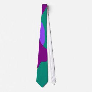 Green Board Purple Bird Blue Sky Yellow Moon.pdf Neck Tie