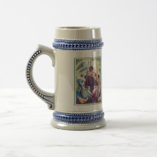 green_boats beer stein