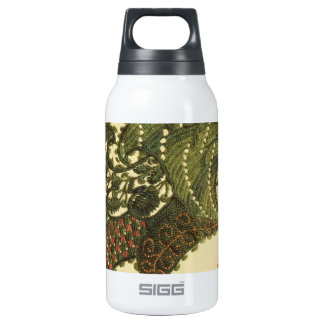 Green Bohemian Paisley 10 Oz Insulated SIGG Thermos Water Bottle
