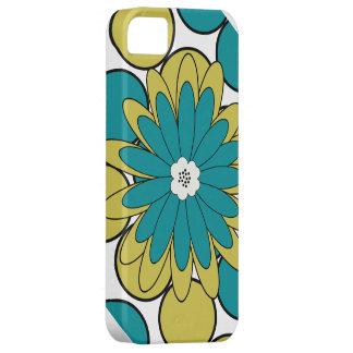 Green Boho Chic flower Iphone 5 Case