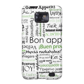 Green Bon appetit in other languages Galaxy S2 Cover