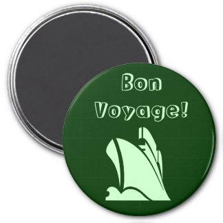Green Bon Voyage Magnet