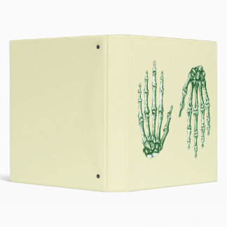 Green Bones of the Hands, One up One down Binder