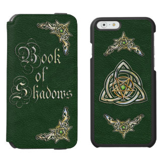 Green Book of Shadows iPhone 6/6s Wallet Case