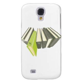 Green book outside of row samsung galaxy s4 case