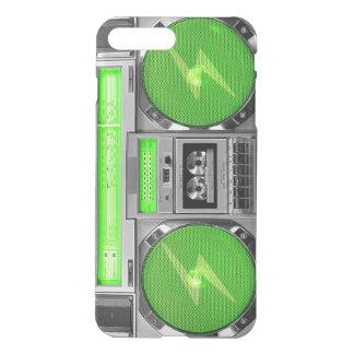 Green boombox iPhone 7 plus case
