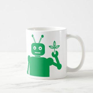 Green Bot Mug