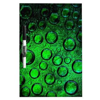 green bottle-glass Dry-Erase whiteboards