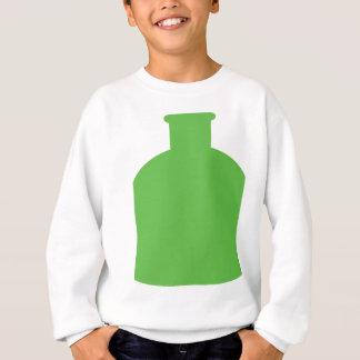 green bottle icon sweatshirt