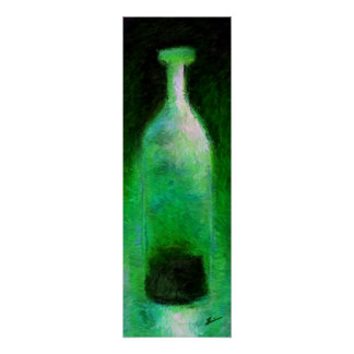 Green Bottle Poster