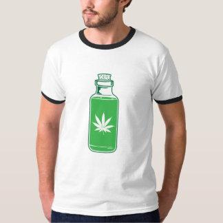 green bottle ringer tee. T-Shirt