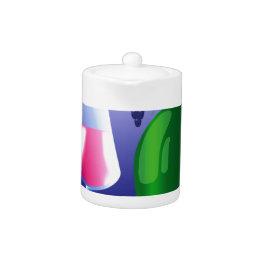 Green Bottle Teapot